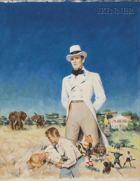 Harry Barton (American, 20th Century)      The Adventurer