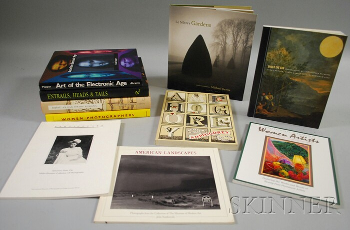 Ten Assorted Photography and Art Related Book Titles