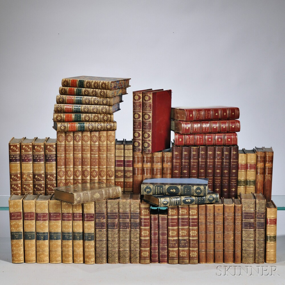 Decorative Bindings, Sets, Approximately Sixty-eight