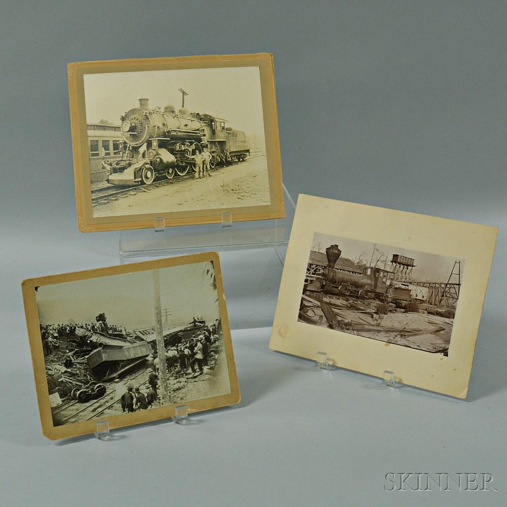 Three Railroad Photographs