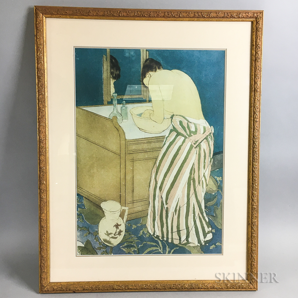 Framed Print After Mary Cassatt
