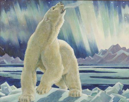 Paul Bransom (American, 1886-1979)  Polar Bear