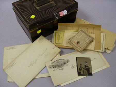 Group of 18th and 19th Century Worcester County Documents, Deeds, and Ephemera