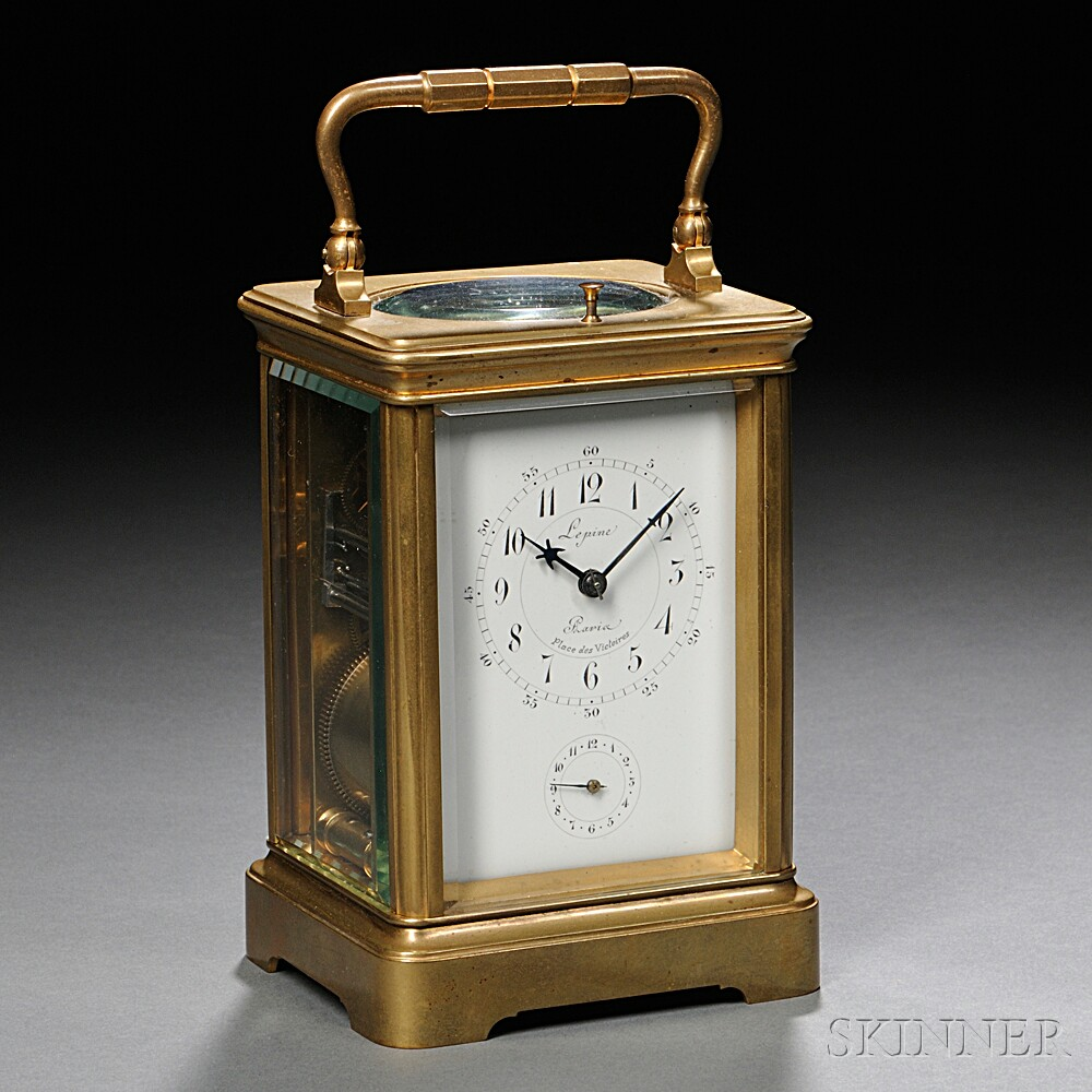 Grand Sonnerie Carriage Clock