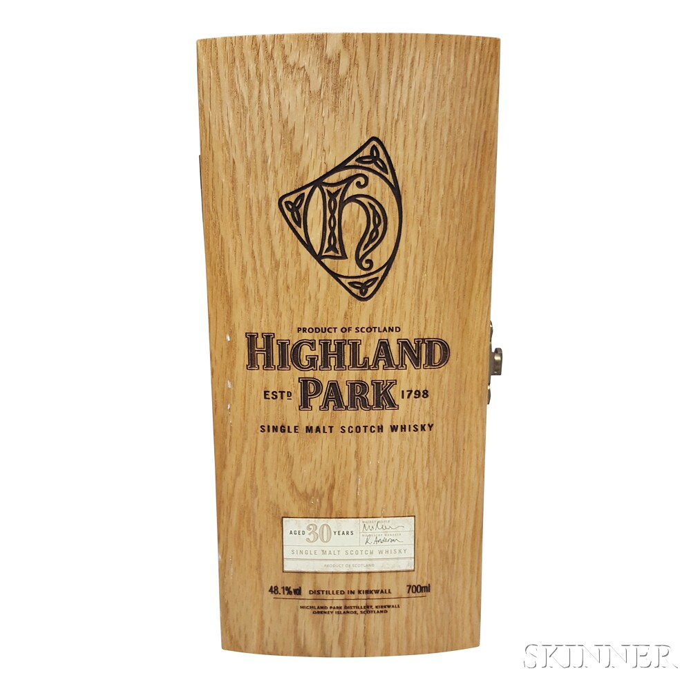 Highland Park 30 Years Old, 1 70cl bottle (owc)