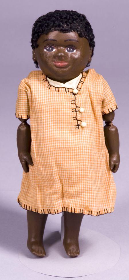 Black Cloth Martha Chase Child Doll