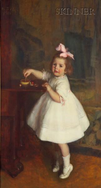 Marie Danforth Page (American, 1869-1940)      Frances Blackler Kennedy