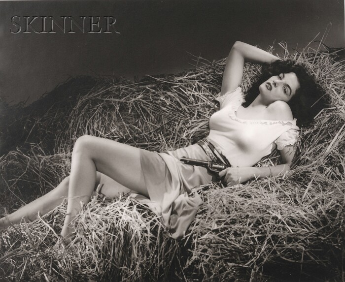 George Hurrell (American, 1904-1992)      Jane Russell (from THE OUTLAW)