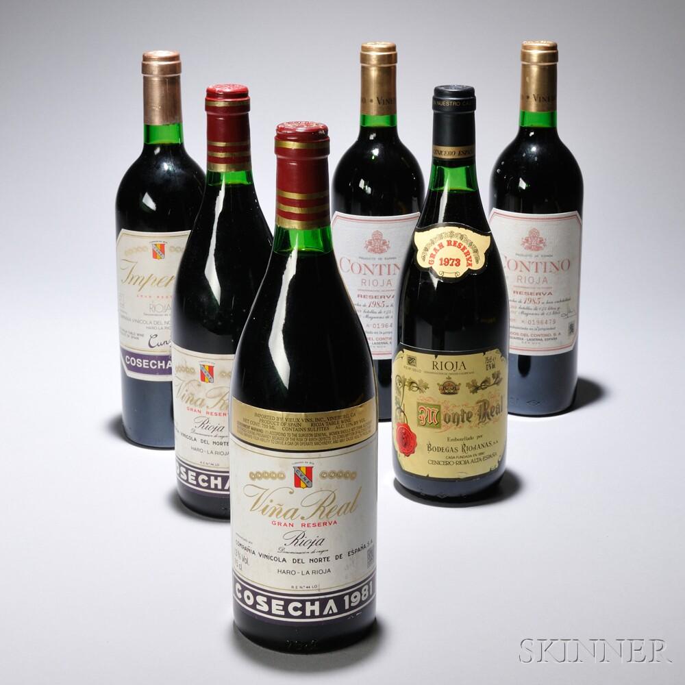 Mixed Rioja, 6 bottles