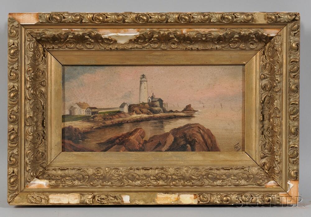 Frederick W. Smith (Maine/Massachusetts, b. 1885)      Boston Light