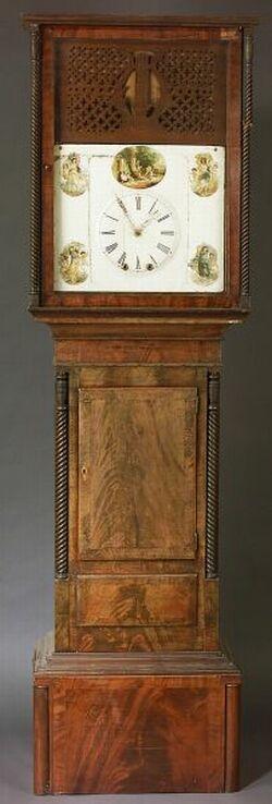 Long Case Organ Clock
