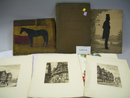 Group of Miscellaneous Paper, Print, and Book Collectibles