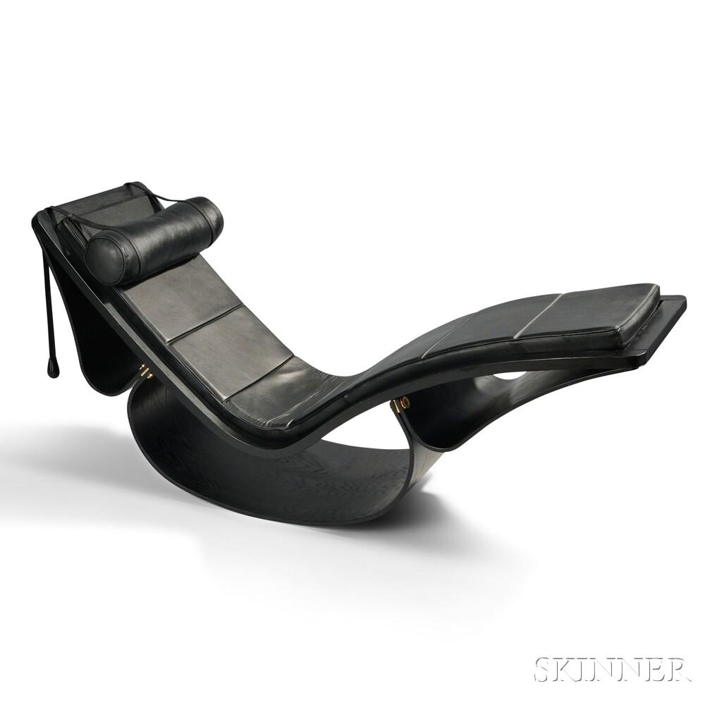 Oscar Niemeyer (1907-2012) Rocking Chaise