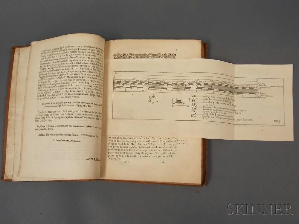 monconys balthasar de 1611 1665 journal des voyages sale number 2621b lot number 593. Black Bedroom Furniture Sets. Home Design Ideas