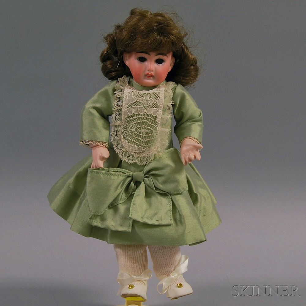 Small Belton Bisque Head Doll