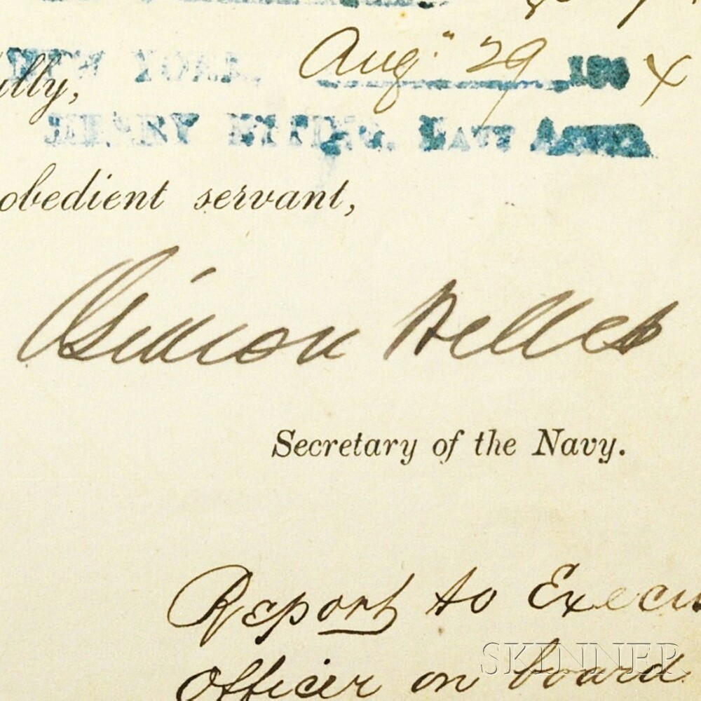U.S. Navy Civil War General Order