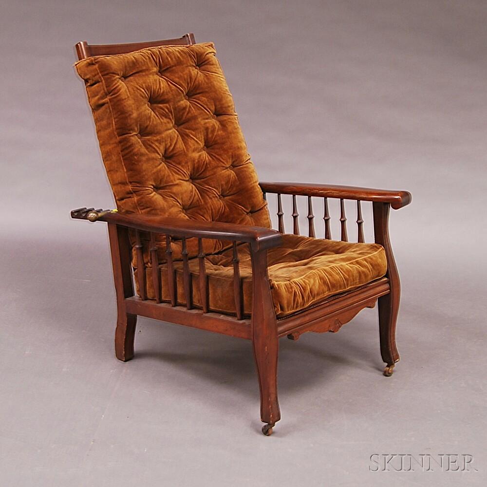 Walnut Morris Chair