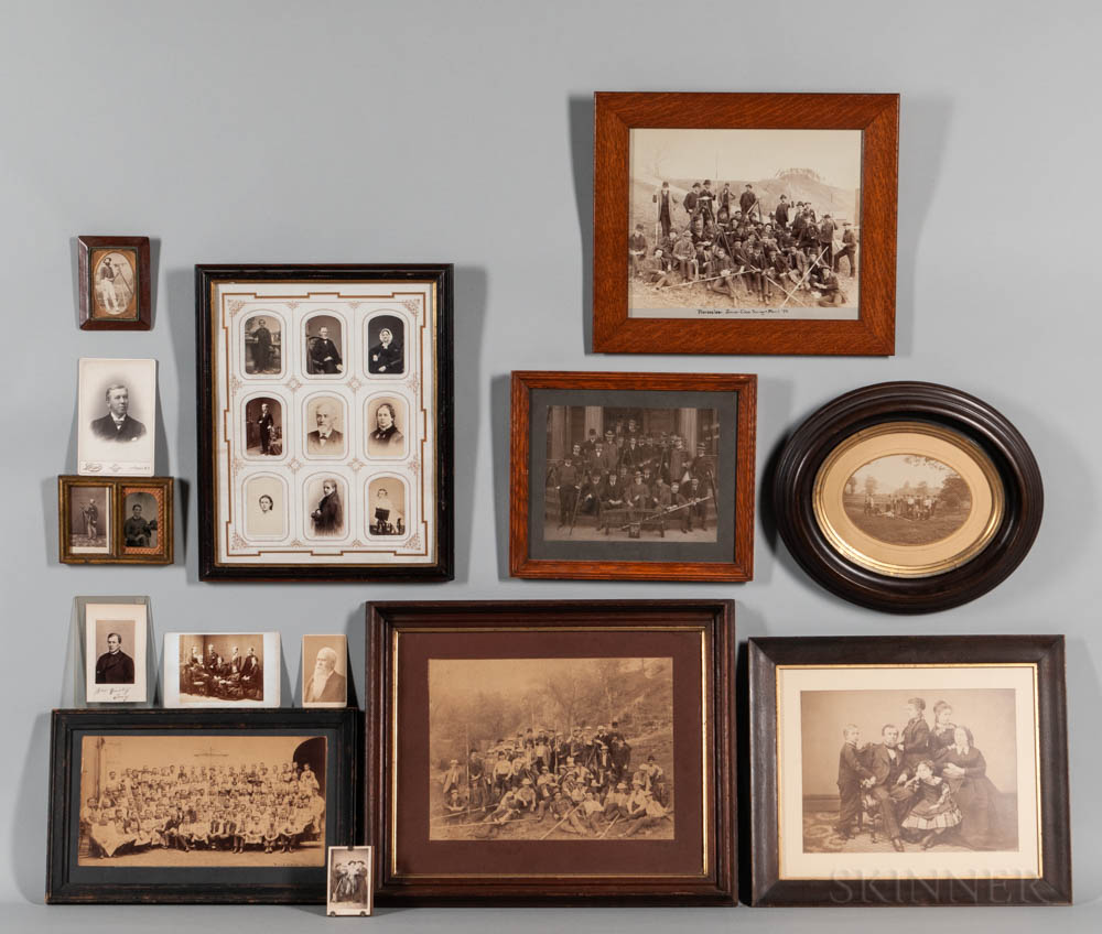 Collection of Gurley Family and Factory Worker Photographs