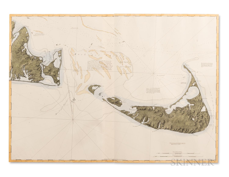 Facsimile Map of Nantucket