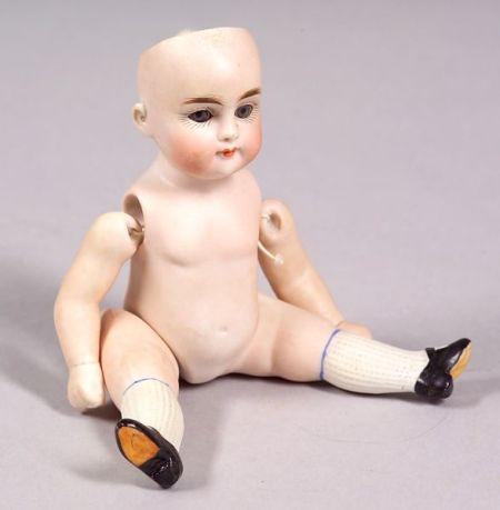 All-Bisque Kestner-type Child Doll