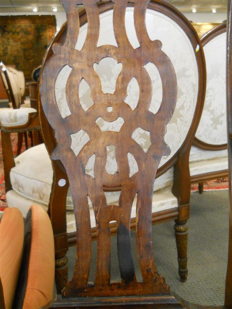 Pair of Portuguese Colonial Chairs