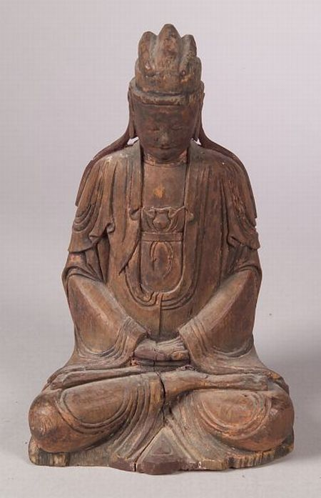Seated Figure of a Divinity