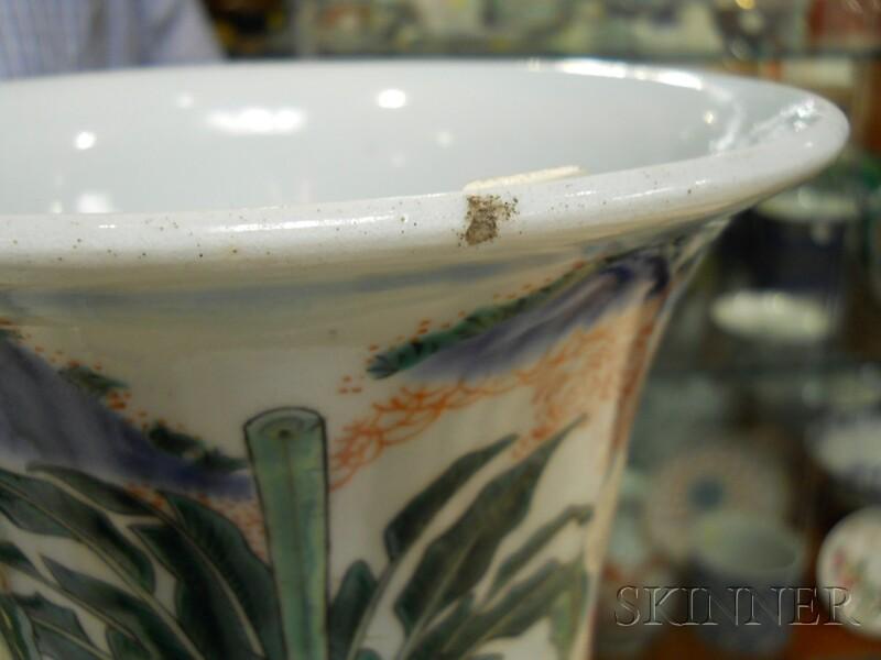 Wucai   Beaker Vase