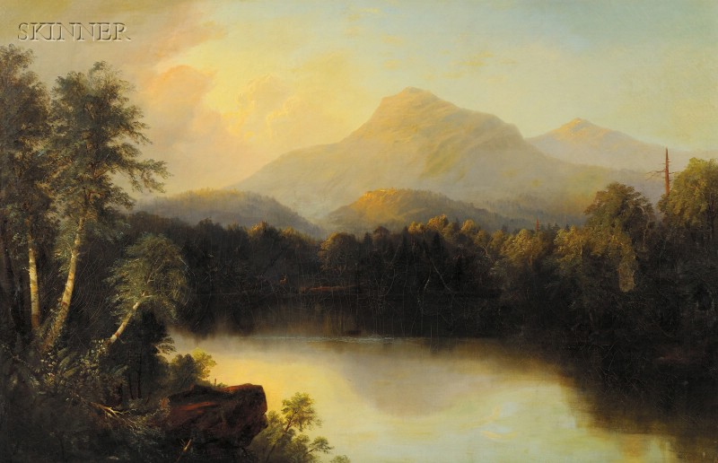 Alfred Thompson Bricher (American, 1837-1908)      Mountain Landscape