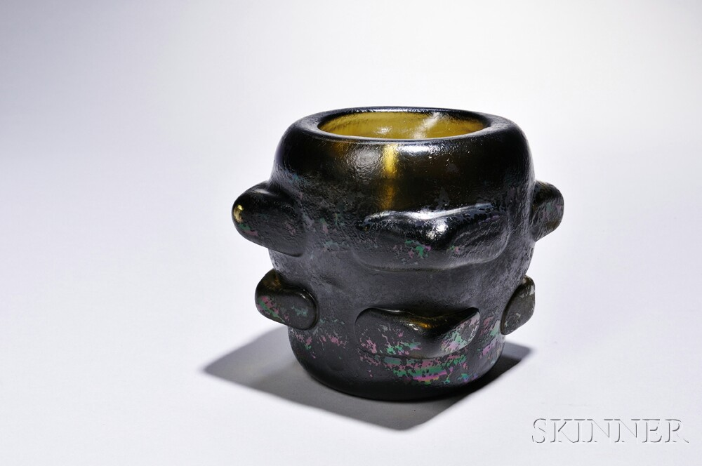 Carlo Scarpa 1909 1978 Designed Vase For Venini Glass Sale