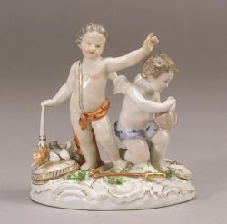Meissen Porcelain Figure Group