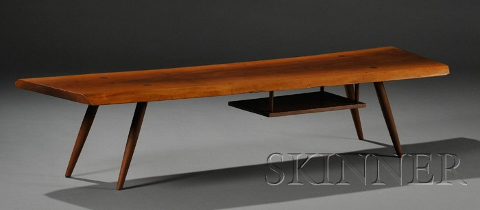 Early George Nakashima (1905-1990) Coffee Table