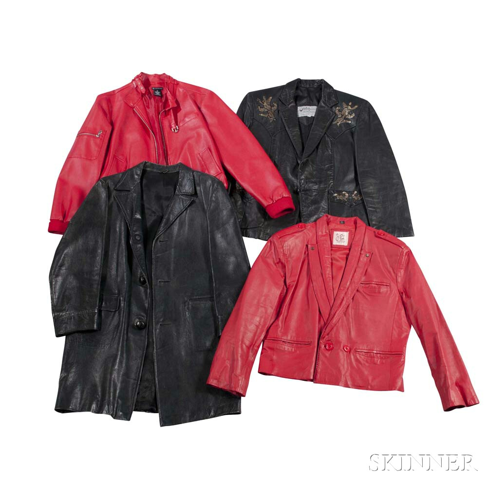 Little Jimmy Dickens     Three Leather Jackets