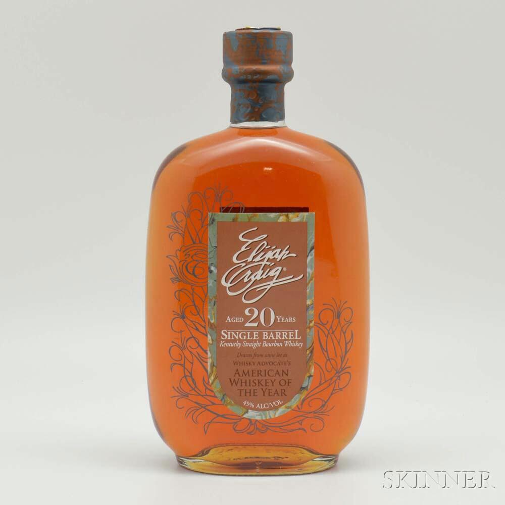 Elijah Craig 20 Years Old 1991, 1 750ml bottle