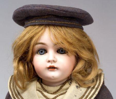 Kestner 129 Bisque Head Doll