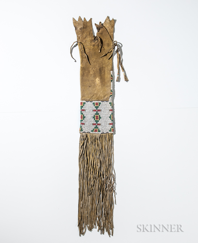 Cheyenne Beaded Hide Pipebag