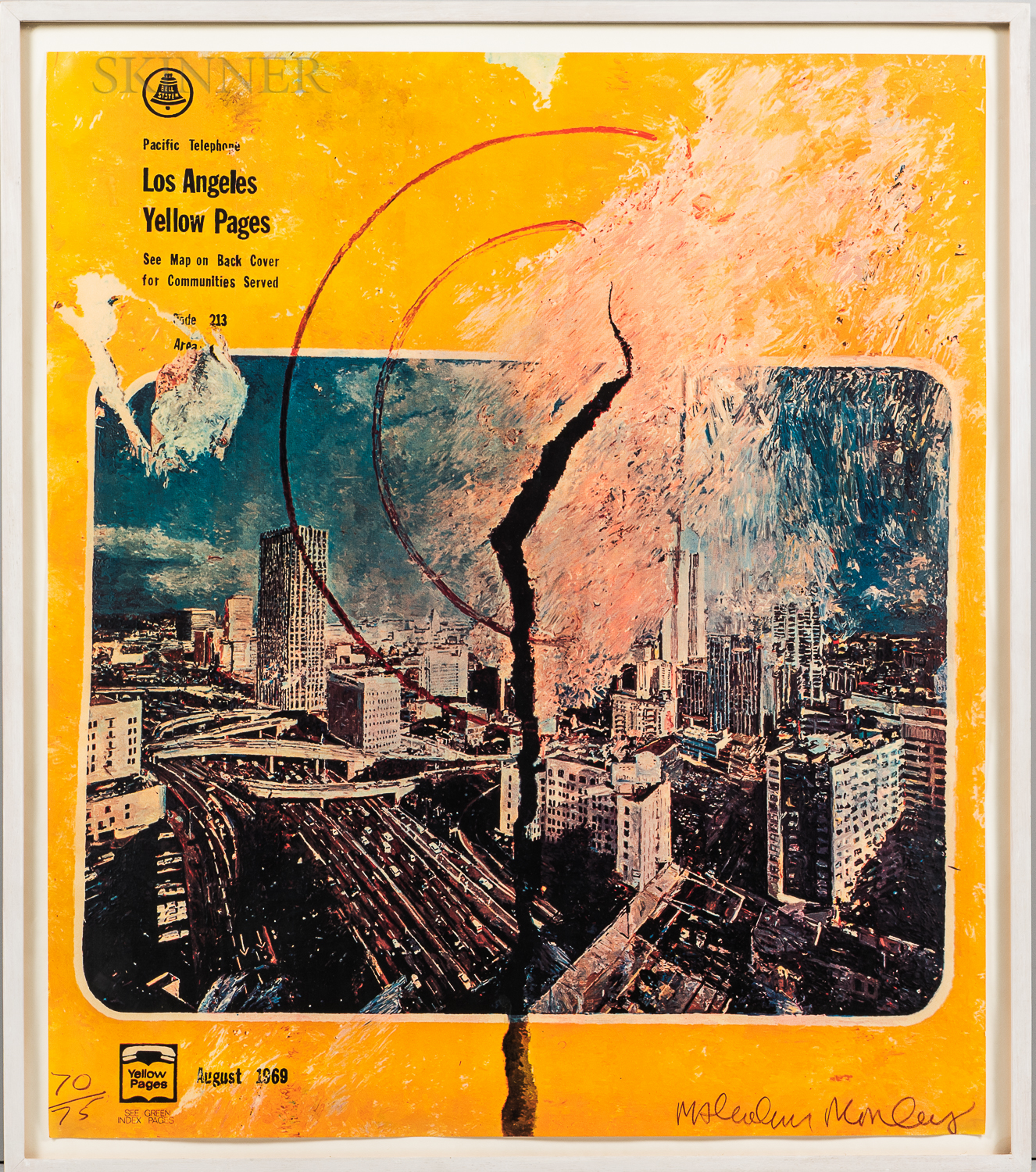 After Malcolm Morley (British, 1931-2018)      Los Angeles Yellow Pages