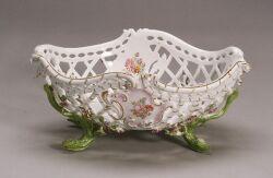 Meissen Porcelain Fruit Basket