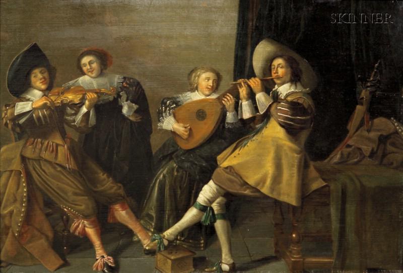 School of Dirck Hals (Dutch, 1591-1656)      The Concert