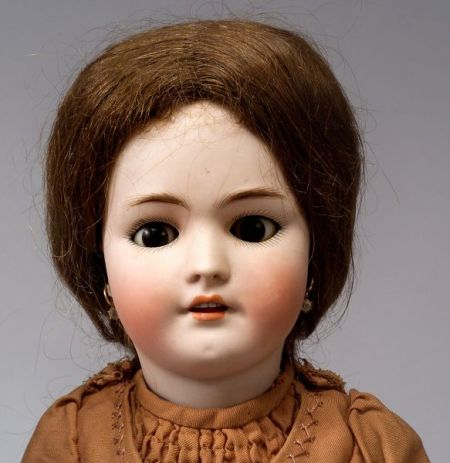 Heinrich Handwerck Simon & Halbig Bisque Head Girl Doll