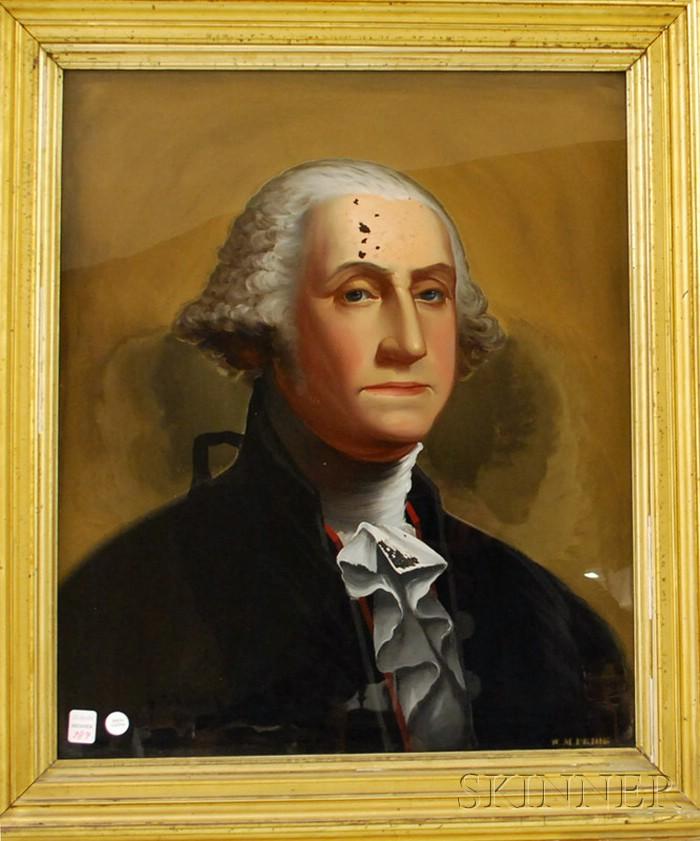 William Matthew Prior (American, 1806-1873)      Portrait of George Washington.
