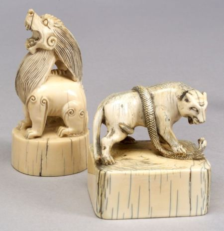 Two Ivory Seals