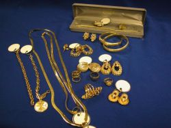 Variety of Gold Bangles, Earrings, Chains, Rings, Etc.