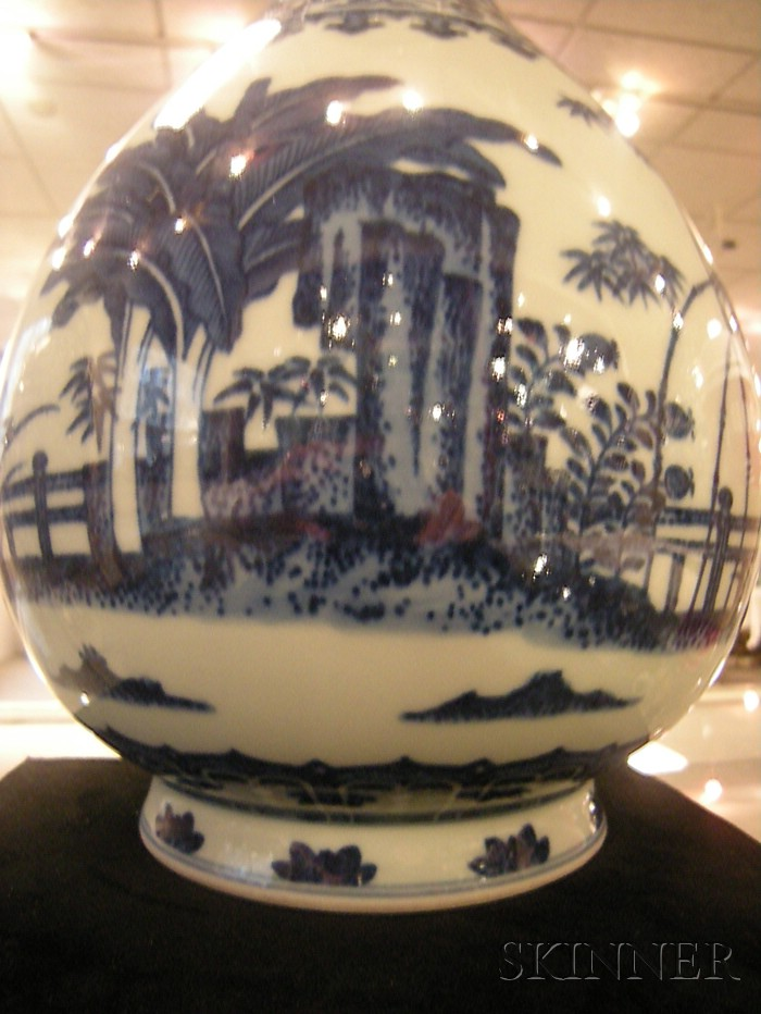 Blue and White Yuhuchun Vase