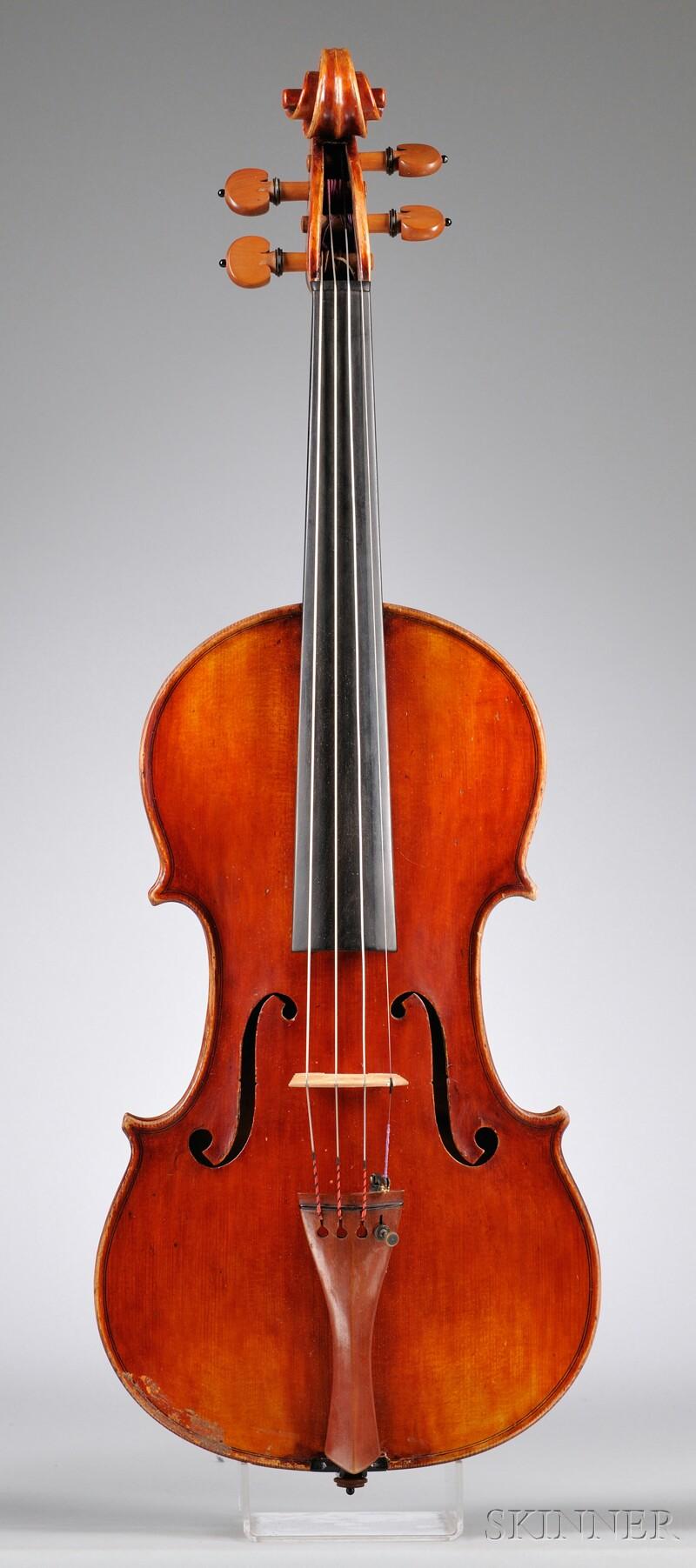 Italian Violin, Camillo Mandelli for , c. 1930