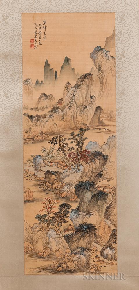 Hanging Scroll Landscape