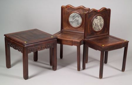 Three Pieces of Chinese Furniture
