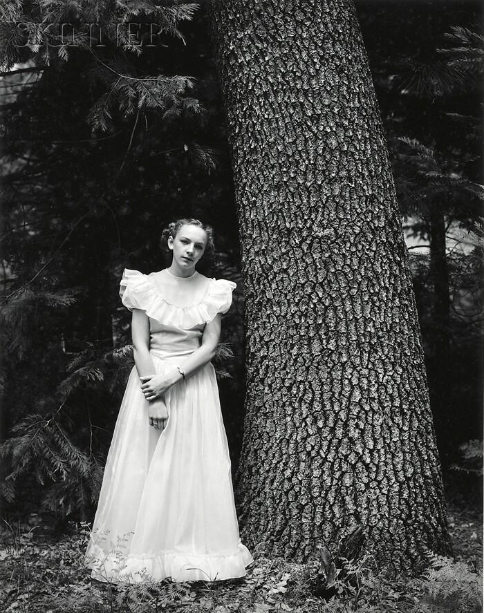 Ansel Adams (American, 1902-1984)      Graduation Dress Yosemite Valley, California