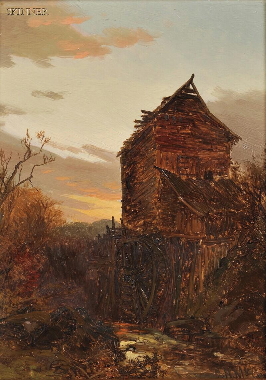 George Herbert McCord (American, 1848-1909)      Old Mill, Berkshire County