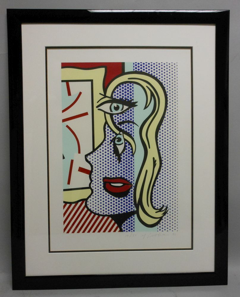 Roy Lichtenstein (American, 1923-1997)      Art Critic