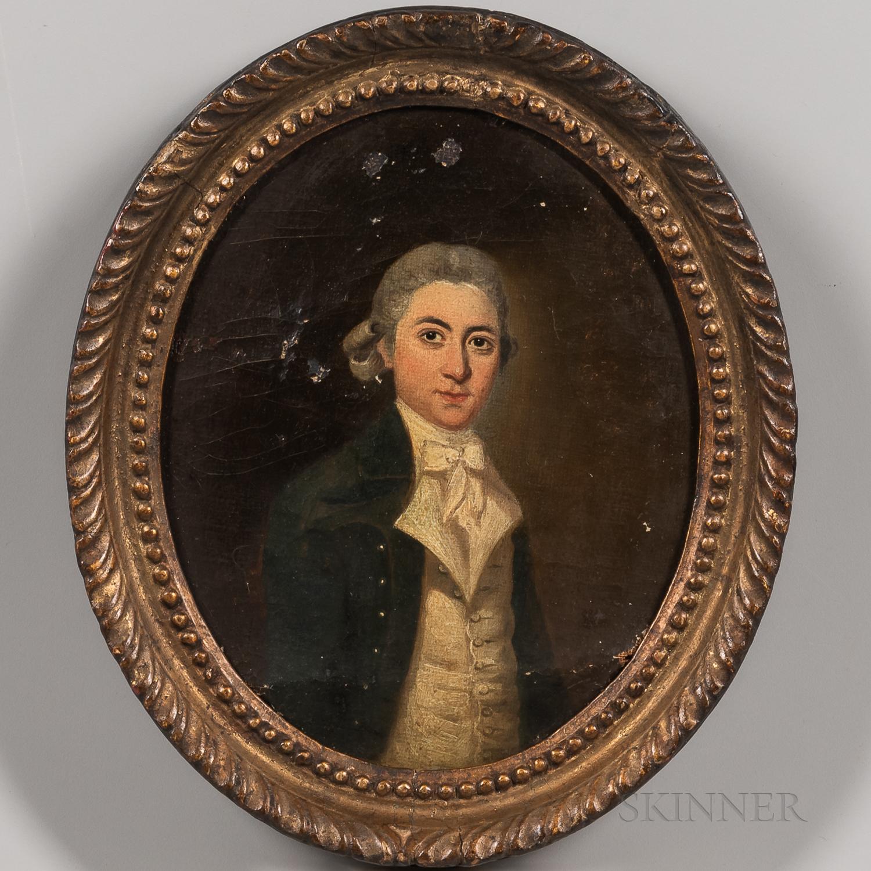British School, 18th Century      Portrait of a Gentleman